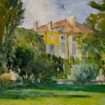La Maison du Jas de Bouffan, 1875-76, 46x55cm, NR269, coll. privée