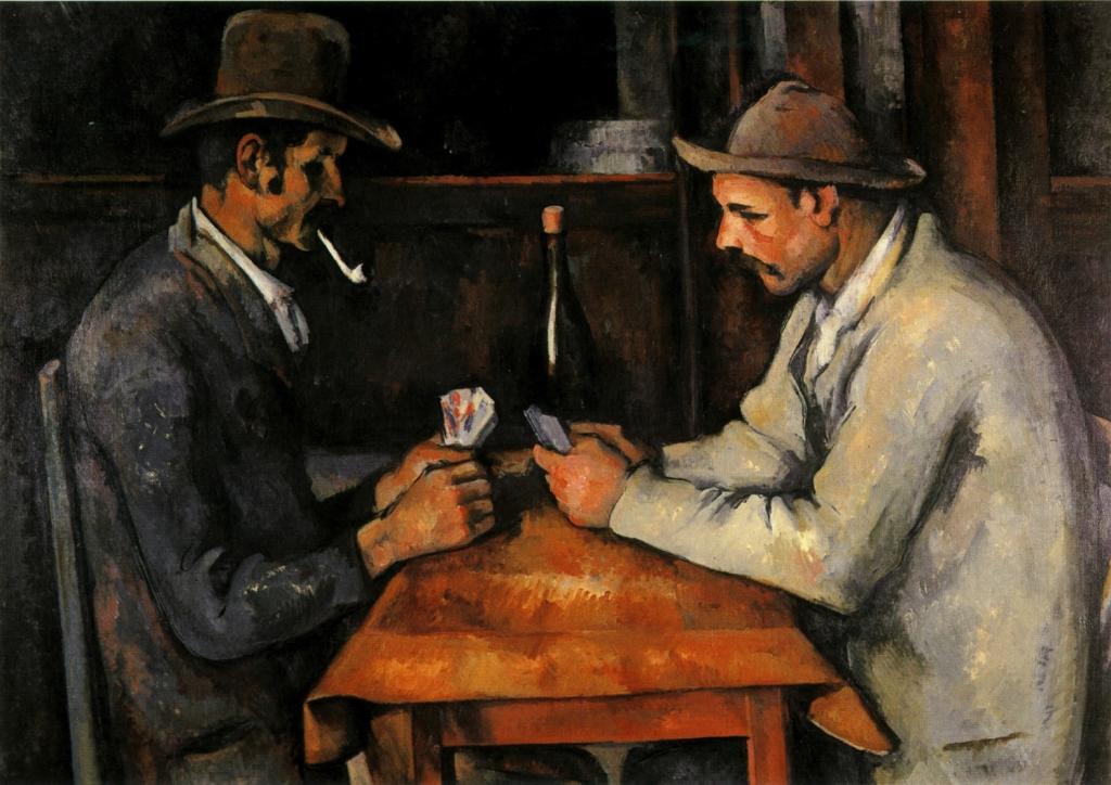Les Joueurs de cartes, 1892-95, NR710,