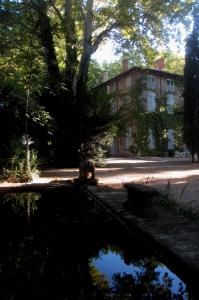 Le Bassin et la Bastide du Jas de Bouffan, (photo DC 2013)