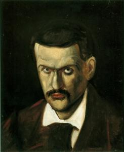 autoportrait d'après une photographie