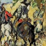 Don Quichotte, vu de dos, 1875, 22,5x16,5cm,NR239, coll.privée