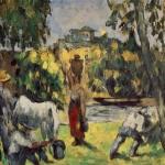 La vie des champs, 1876-77, 26x35cm, NR282, Phildelphie, coll. privé.