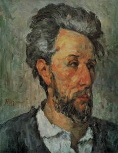 Portrait d Victor Chocquet,1876-77, 46x36cm, NR292, coll. privée