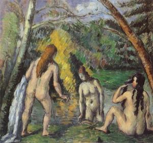 Trois Baigneuses, 1876-77, 52X54,(cm, NR 360, Paris, Musée de la Ville de Paris, Petit Palais