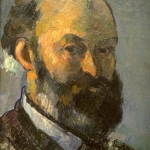 Portrait de l'artiste, 1879-80, 33,(x24,5cm, NR416, Winterthur, Sammlung Oskar Reinhart