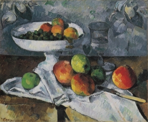 Nature morte au compotier, 1879-1880, 46X55cm, NR418, New York Moma