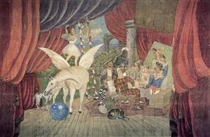fig 31 : Picasso, Parade, Parsi Centre Pompîdou