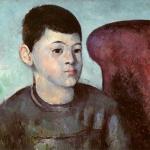 Le Fils de l'artiste au fateuil rouge, 1881-82, 34x37,5cm, NR465, Paris, musée de l'Orangerie