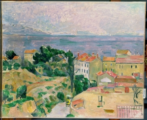 Vue sur l'Estaque, 1882x83, 59x73cm, NR514, coll.privée