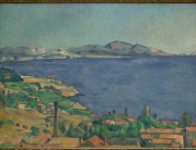Le Golfe de Marseille, vu de l'Estaque, 1885, 75x100cm, NR625, New York Metropolitan museum of art