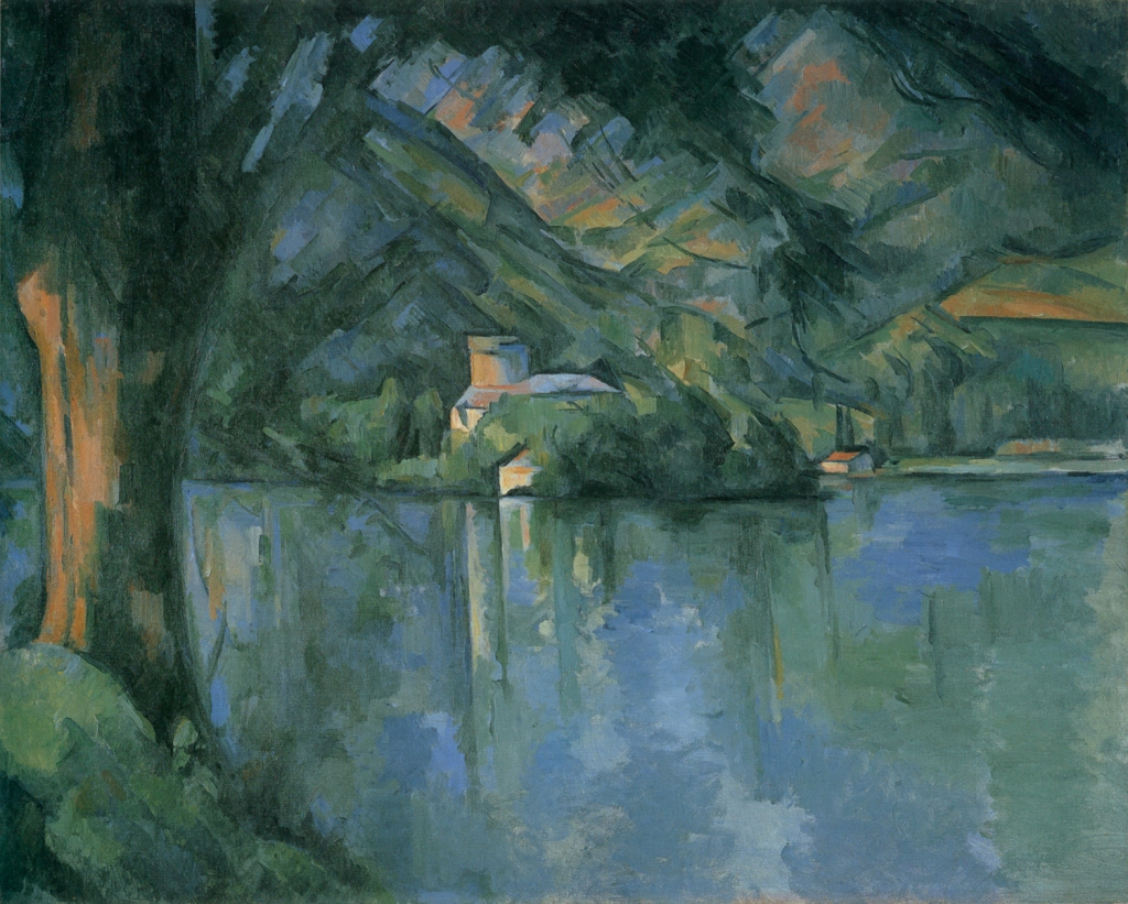 Le Lac d'Annecy, 1896, 65x81cm, NR 805, Londres, Insyitut Courtauld