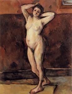 Femme nue debout, vers 1898-99,