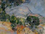 Sainte-Victoire vue de la route du Tholonet près de Château-Noir, 1904,NR 900 Cleveland