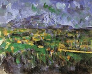 La montagne Sainte-Victoire, vues des Lauves, 1902-04, 69,8x89,5cm, NR912, Phildelphi, Museum of Art.