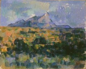 Sainte-Victoire, vue de la colline des Lauves, vers 1902-1906, NR914, Suisse coll. privée