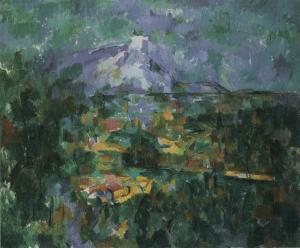 Sainte-Victoire vue de la colline des Lauves, 1906, NR 931, Basel Kunstmuseum