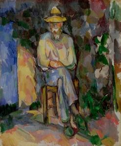Le Jardinier Vallier, 1905-1906, 65,5x55cm, Londres, NR950,Tate Gallery