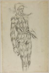 fig 28 : Cézanne Harlequin