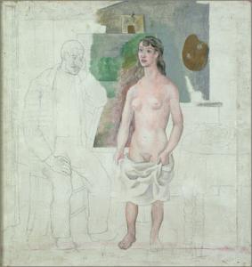 fig. 31 : Picasso, Artiste et modèle