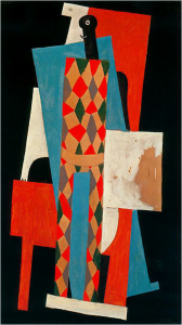 fig.30 : Harlequin, 1915, New Yorl, MOMA