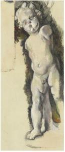 L'Amour en plâtre, 1894-95, 57x25cm, NR 783