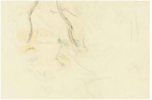 études d'arbres, vers 1890, 28x43,2cm, R354