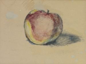 Etude de pomme, vers 1890