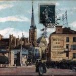 carte postale ancienne (début XXeme, Melun