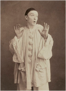 fig 21 : Pierrot (photo Nadar)
