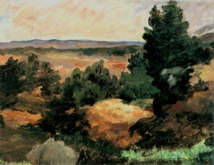 Paysage vers 1865-66, 26,5x35cm, NR57, New York, Vassar College Art Gallery