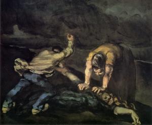 Le Meurtre, vers 1870, NR165