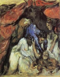 La femme etranglée, 1875-76, 31x25cm, NR 247