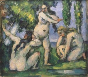 Trois Baigneuses, 1874-75, 19x22cm, NR258, Paris , musée d'Orsay
