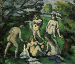 Cinq Baigneuses, 1877-77, 45,5x55cm, NR365, Paris, Musée Picasso