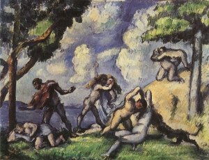 La lutte d'amour, I, 1879-80, 42x55cm, NR455