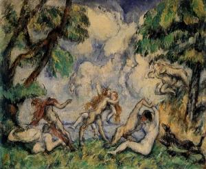 La lutte d'amour II, 1880, 37,8x46,4cm, NR456