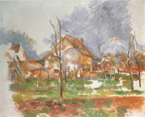 Paysage d'hiver (Giverny) 1894, 65x55cm, NR777, Phildelaphie FinesArts Museum