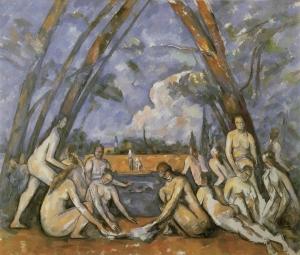 Les Grandes Baigneuses, 1906, 208x249, NR 857, Philadelphie, Fine arts museum