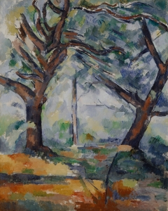 Les Grands arbres, 1902-1904, 79x63,5cm, NR904, Edimbourg, National Gallery of Scotland