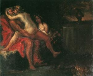 Loth et ses filles, vers 1865, coll.privée, NR76