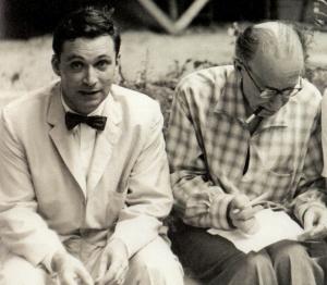John Rewald et Léo Marschutz en 1956