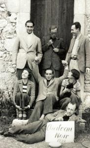 Une communauté d'artistes allemands à Château-Noir en 1932