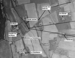 fig.11 : Photo aérienne 1958