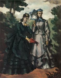 Cézanne, d'après La mode Illustrée, NR153