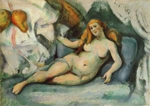 Femme nue, 1885-87, 44x62cm, NR590, Wuppertl Museum