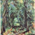 L'Allée à Chantilly, I, 1888, 82x66cm, RN614, Nondres, National Gallery