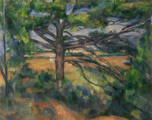 Le pin au tronc rouge, NR761, Saint Petrebourg, Ermitage