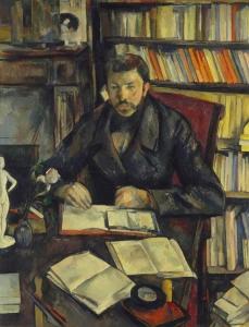 portrati de Gustavve Gefroy, 1895-1896, 116x89cm, Parsi Musée d'Orsay