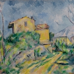 Maison Maria à Château-Noir , peint par Cézanne (NR 792)