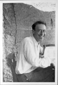 Léo Marchutz à Château Noir en 1936 ( cliché Marchutz)